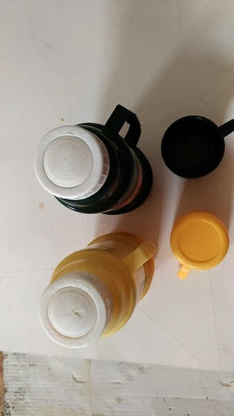 Used Hot and cold water bottle two pieces in Dubai, UAE