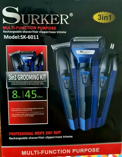 Used SURKER RECHARGEABLE 3 in 1 TRIMMER in Dubai, UAE
