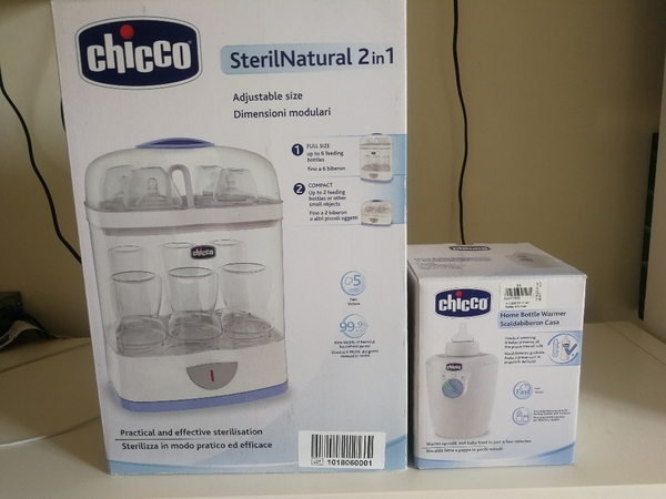 Used Chicco Sterilizer & bottle warmer. With in Dubai, UAE