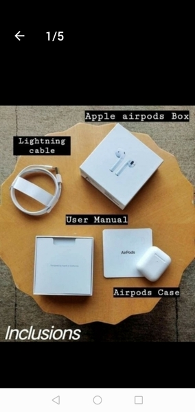 Used APPLE GEN2 AIRPOD WIRELESS +FREE GIFT!! in Dubai, UAE