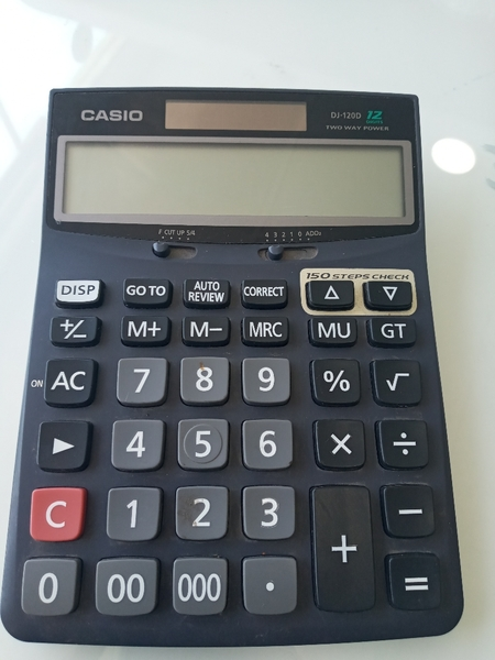 Used +casio calculator in Dubai, UAE