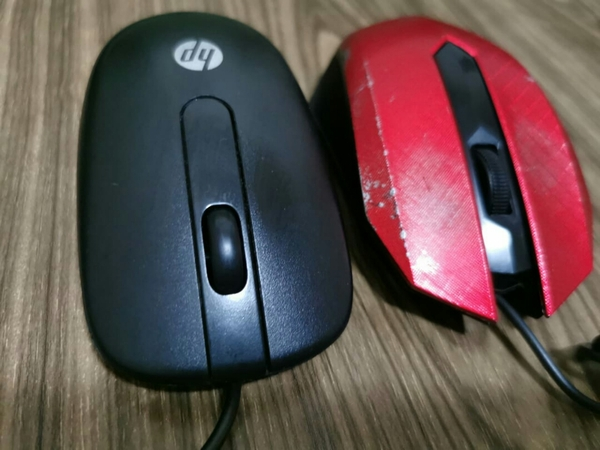 Used Optical 2 pcs Mouse HP PS/2 and Apache in Dubai, UAE