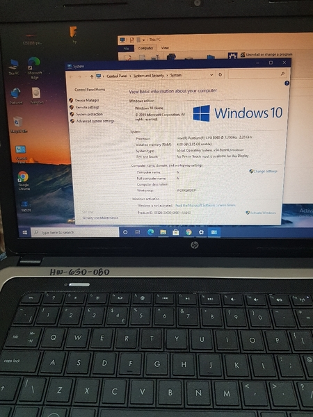 Used HP Laptop, Intel(R), 4GB in Dubai, UAE