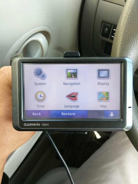 Used Garmin Nuvi 205w GPS in Dubai, UAE