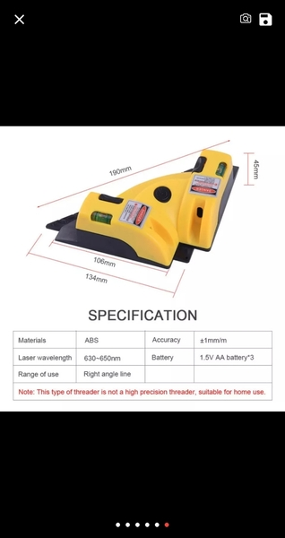 Used 90 Degree Laser Instrument NEW in Dubai, UAE