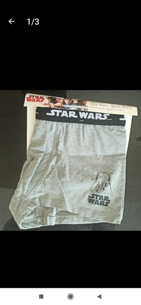 Used 2 Boxers (pack) STAR WARS SIZE L NEW in Dubai, UAE