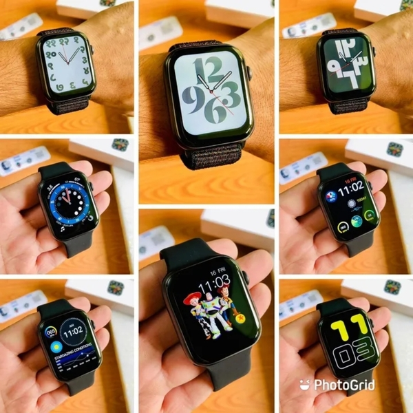 Used APPLE.. New. FK 78 SMARTWATCH.. SERIES6 in Dubai, UAE