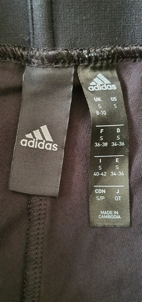 Used Adidas stacked logo tights Small in Dubai, UAE
