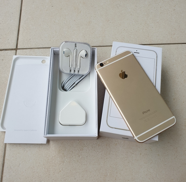 Used I.PHONE 6 PLUS 64GB GOLDEN FOR SELL in Dubai, UAE