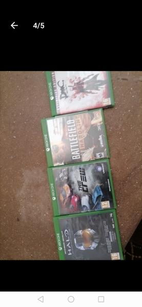 Used Xbox games in Dubai, UAE