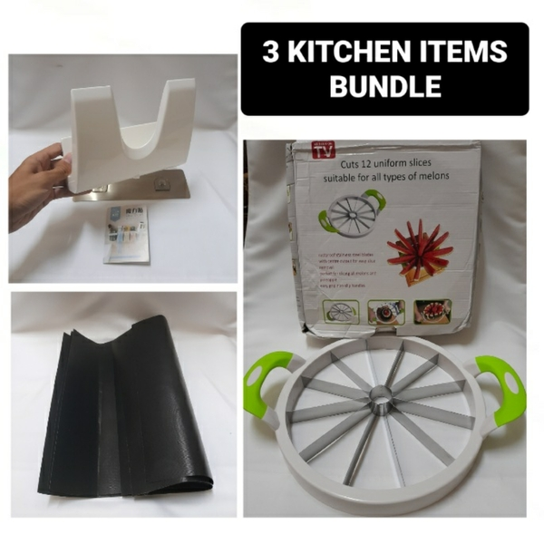 Used 3 Kitchen Items for ONE PRICE FOR ALL in Dubai, UAE