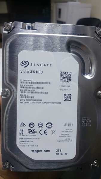 Used 2tb HDD 3.5 seagate in Dubai, UAE