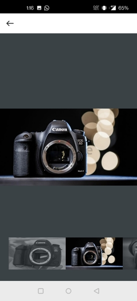 Used CANON 6D MARK 2- BODY ONLY in Dubai, UAE
