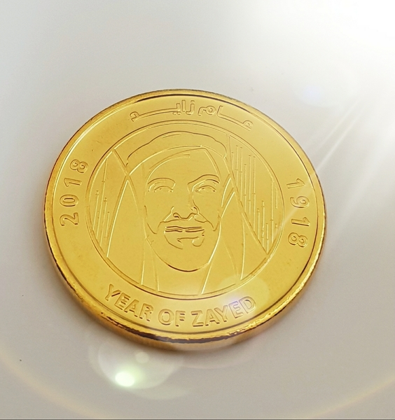Used 1gold plated coins 🧞♂️🧞 in Dubai, UAE