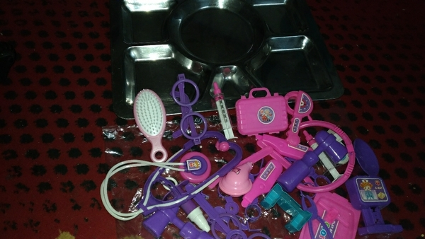 Used Toys with the tray in Dubai, UAE