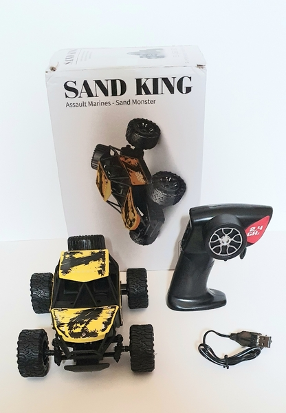 Used Sand King RC Monster Remote Control Car in Dubai, UAE