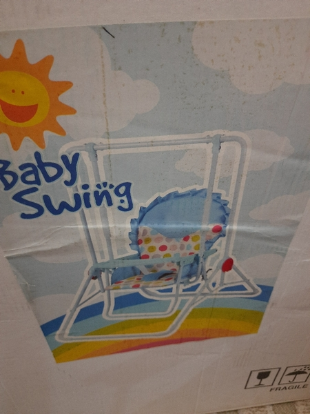 Used Baby swing with stand in Dubai, UAE