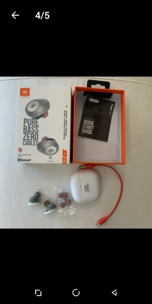 Used JBL TUNE120 WIRE LESS EARBUDS in Dubai, UAE