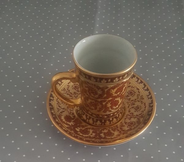 Used Luxury hand painted cup from Thailand in Dubai, UAE