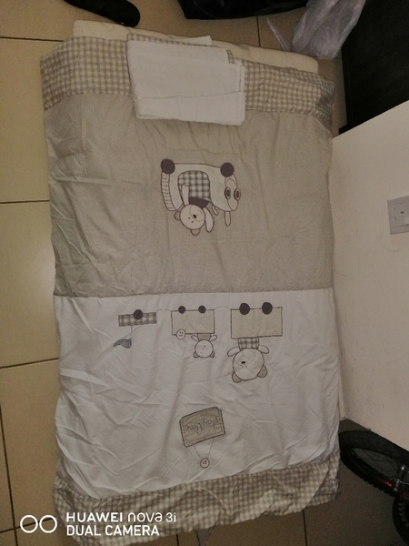 Used Matress with sheet and cover in Dubai, UAE