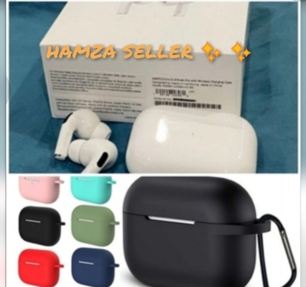 Used APPLE AIRPOD PRO WIRLESS WITH FREE CASE in Dubai, UAE