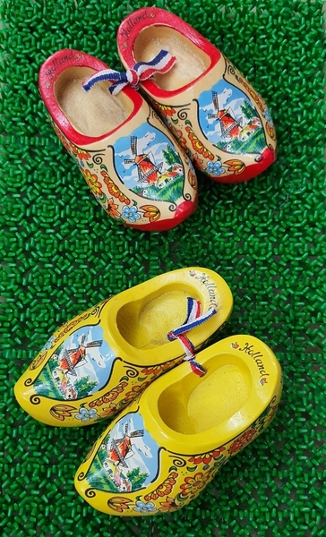 Used Souvenirs: Holland Wooden Shoes in Dubai, UAE
