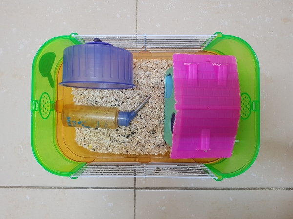 Used Hamster cage with all accessories in Dubai, UAE