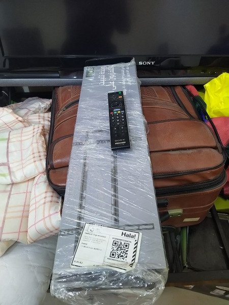 Used 56inch Sony LCD TV with stand and Remote in Dubai, UAE