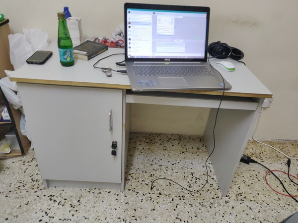 Used Computer wooden table in Dubai, UAE