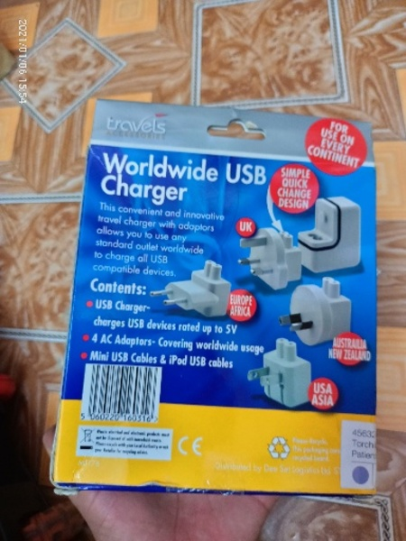 Used Worldwide USB Charger New in Dubai, UAE