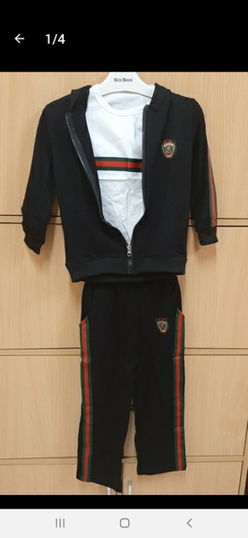 Used Gucci hoodie set for your prince ! in Dubai, UAE