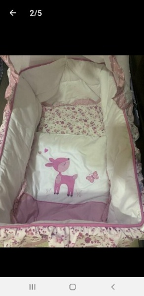 Used Baby bed from Baby shop with box in Dubai, UAE