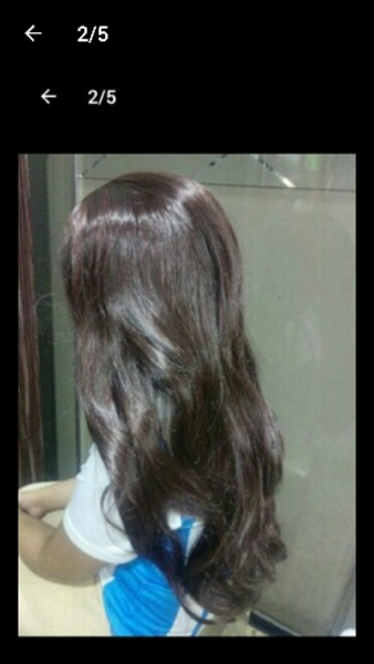 Used Straight lace wig brand new in Dubai, UAE