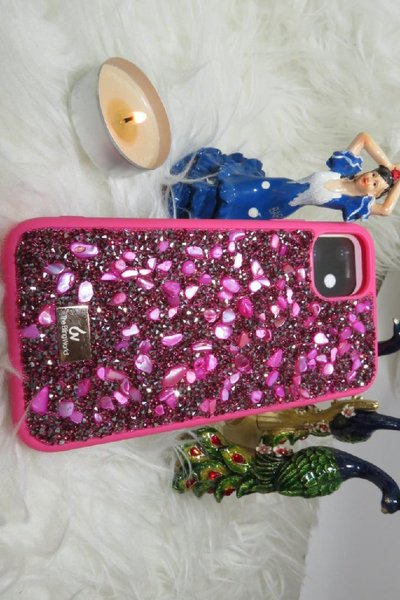 Used Mobile cover Kingxbar swarovski (new) in Dubai, UAE
