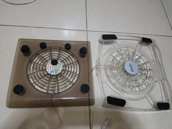 Used ❤2 Laptop cooler fan for cheapest price❤ in Dubai, UAE
