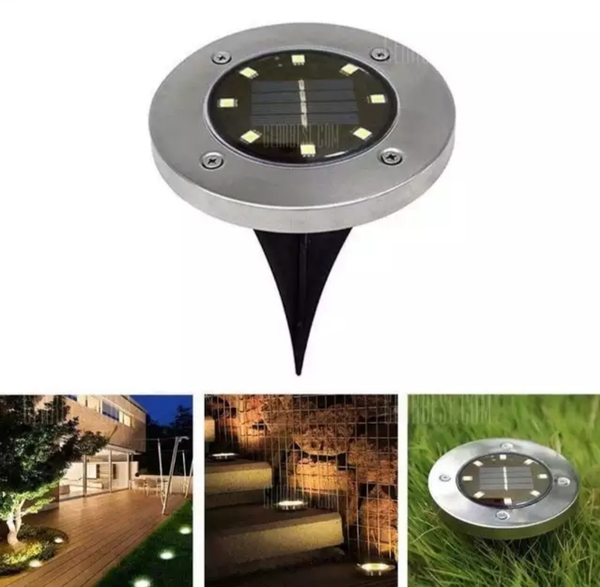 Used Led solar light 4 pcs ! in Dubai, UAE