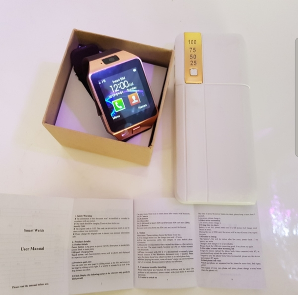 Used New smart watch 50000mah power bank in Dubai, UAE