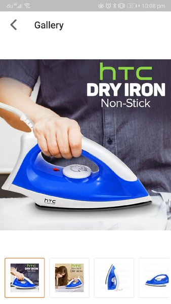 Used New dry iron HTC nonstick in Dubai, UAE