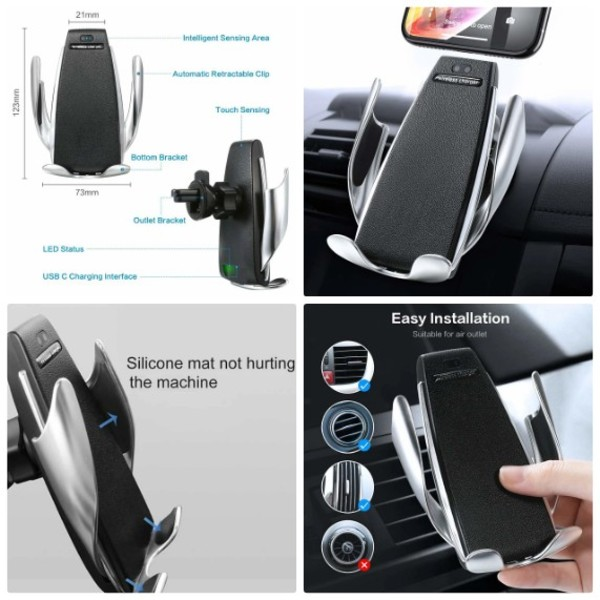 Used Car wireless charger smart stand in Dubai, UAE