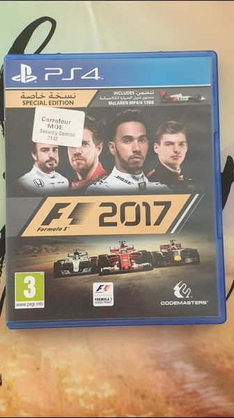 Used PS4 F1 2017 (special edition) in Dubai, UAE