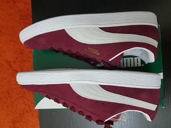 Used Puma shoes suede 40 to 41 size for M/F in Dubai, UAE