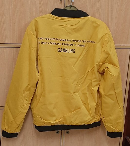 Used Bomber Jacket (L) in Dubai, UAE