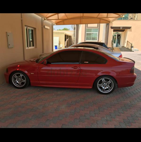 Used Bmw 2001 M Power Manuel Gear Red Color in Dubai, UAE