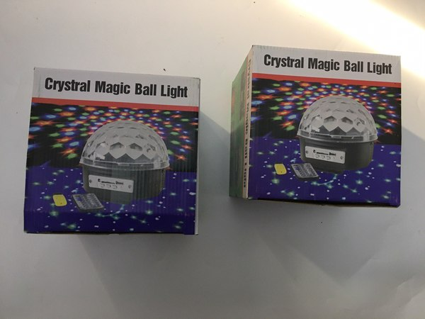 Used Magic led ball light 2 pcs in Dubai, UAE