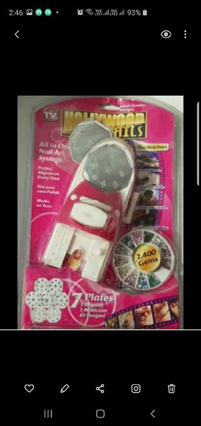 Used New nails art sealled pack set in Dubai, UAE