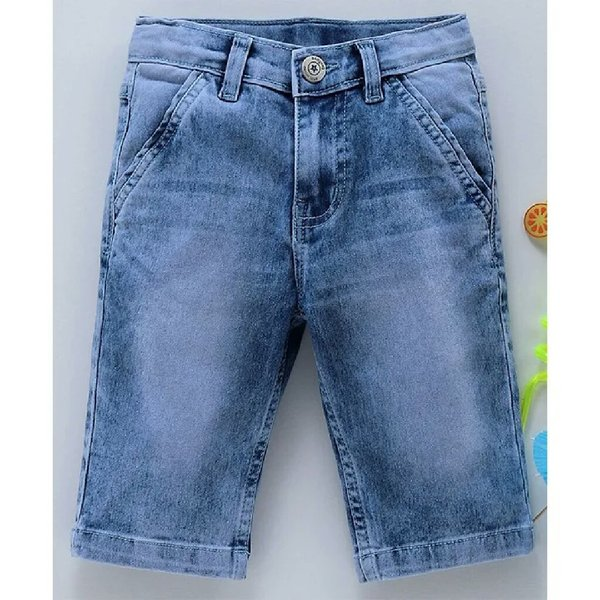Used Babyhug shorts light blue in Dubai, UAE