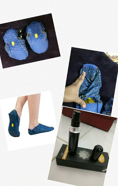 Used Vibram Furoshiki shoes in Dubai, UAE