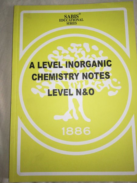 Used Chemistry inorganic notes and revision in Dubai, UAE