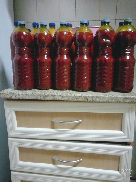 Used Palm oil.(Red oil)oraginal in Dubai, UAE