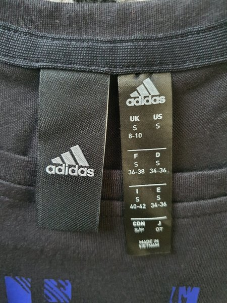 Used Adidas commercial blouse for women Small in Dubai, UAE